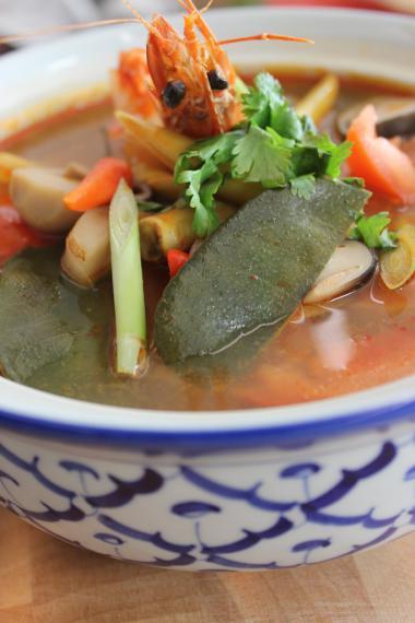 Recept 'garnalensoep of tom yam kung'