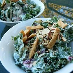 Romige boerenkoolsalade recept