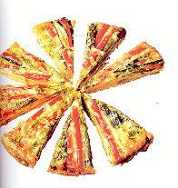 Tapas van groente frittata met asperges en courgette recept ...