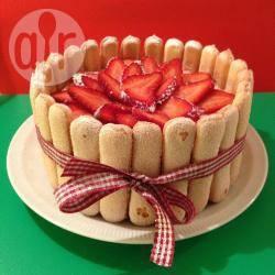 Aardbeien charlotte recept