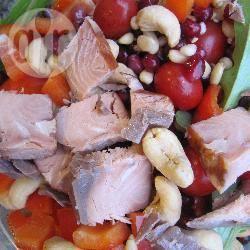 Zalmsalade voor in het lunchpakket recept