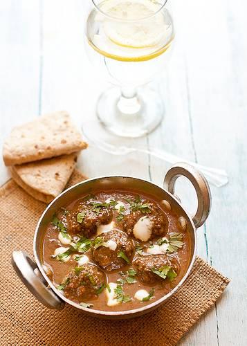 Lamb kofta curry recept