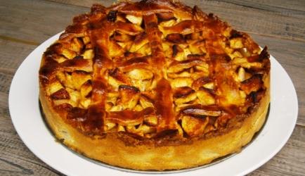 Supersimpele maar superlekkere appeltaart recept