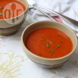 Tomatensoep met basilicum recept