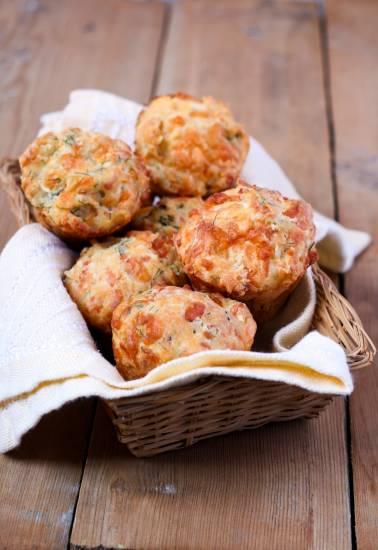 Feta-spinazie muffins recept