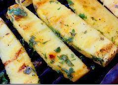 Frisse hap van de bbq : ananas met tequila en koriander recept ...