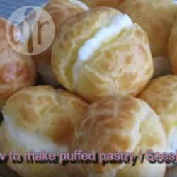 Slagroomsoesjes (glutenvrij) recept