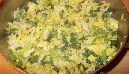 Groene kool of savooiekool met mosterdroomsaus recept ...