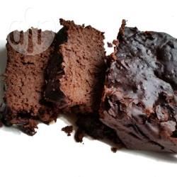 Chocoladecake op basis van courgette en dadels recept