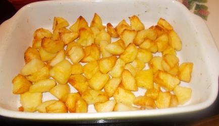 Perfect geroosterde aardappelen uit de oven lekker knapperig ...