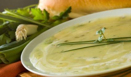 Prei-aardappel soep recept