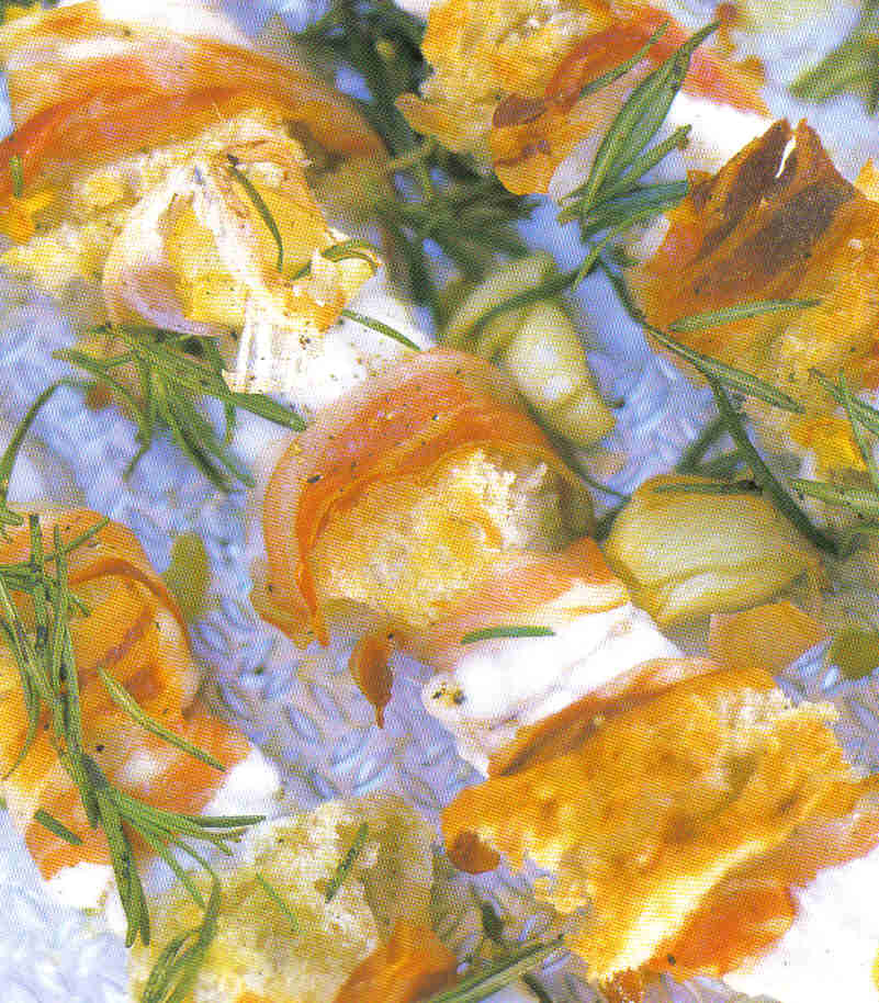 Jamie oliver's zeeduivel met pancetta en brood recept