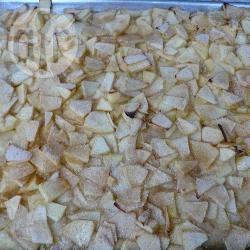 Gesneden appeltaart recept