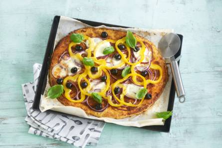 Glutenvrije bloemkoolpizza