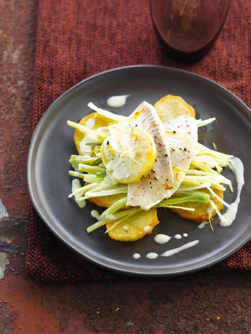 Recept 'witvis met gekonfijte citroen'