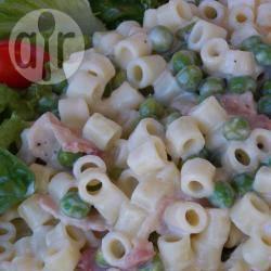 Romige pasta met prosciutto recept