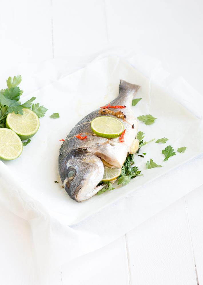 Fresh & easy: thaise dorade uit de oven