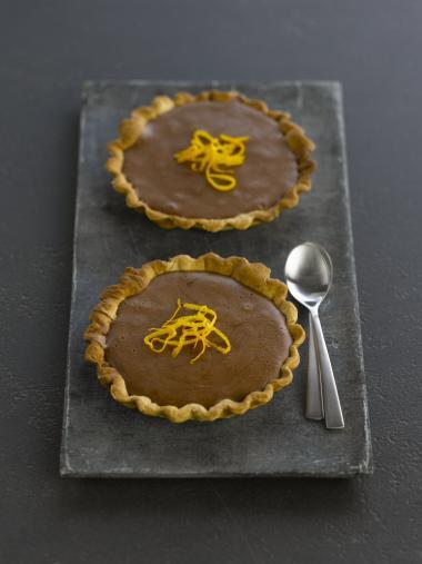 Recept 'chocoladetaartjes met appelsien'