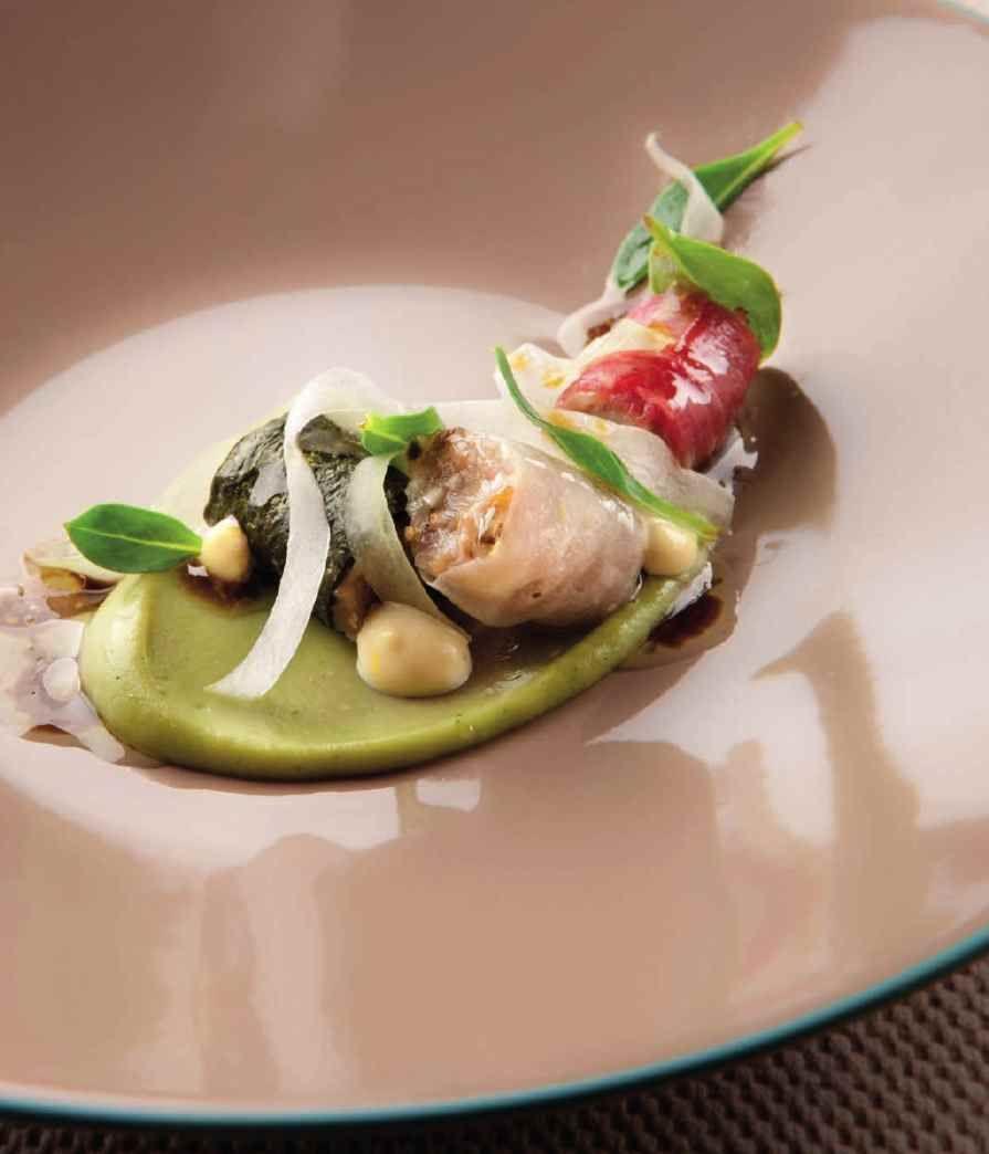Recept 'holle oester met avocado, nori en koriander'