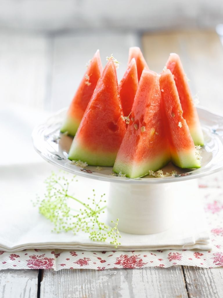 Recept 'dronken watermeloen'