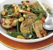 Varkenshaas met gewokte groenten recept