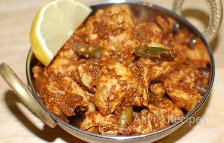 Spicy chili chicken (hete kip curry ) recept