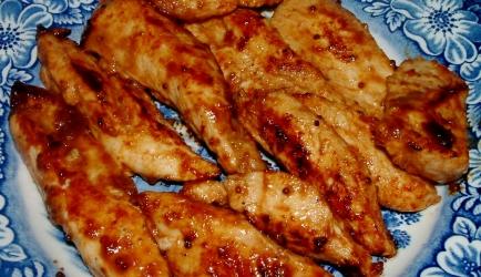 Spicy kipfilet van grill of bbq recept