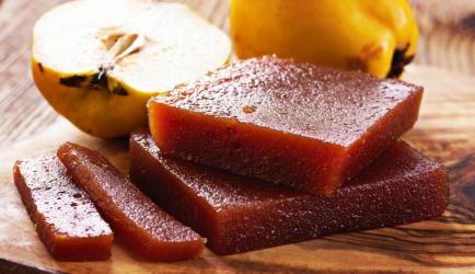 Kweepeer (membrillo) ham-kaas broodje recept