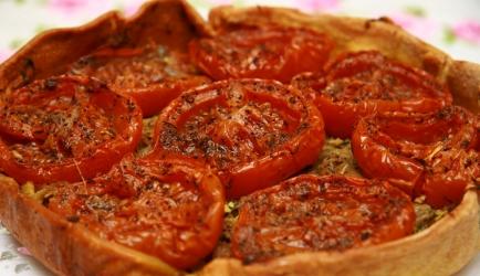 Franse tomatentaart van guylaine recept