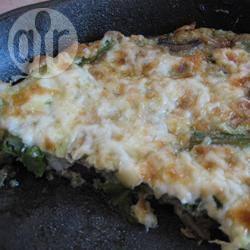 Eenvoudige frittata met asperges en champignons recept ...