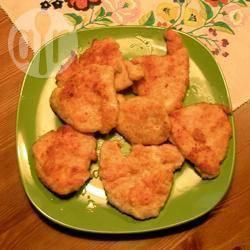 Gepaneerde kipschnitzels recept