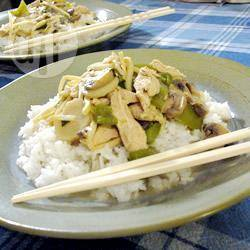Ken's pittige thaise groene curry met kip recept