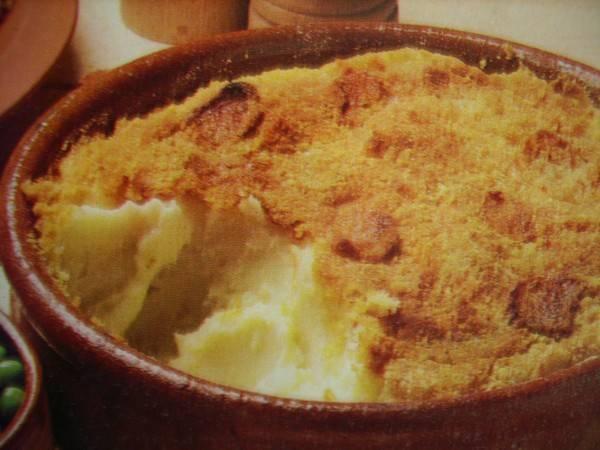 puree aardappelen in de oven