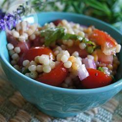 Couscoussalade met tomaat recept