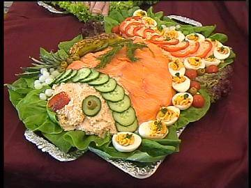 Zalmsalade recept