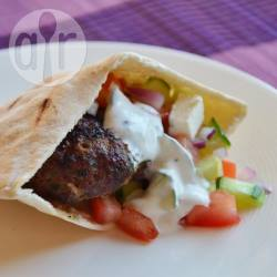 Griekse kofta met tzatziki recept