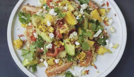 Quinoasalade met mango, avocado, koriander en limoen (jamie ...