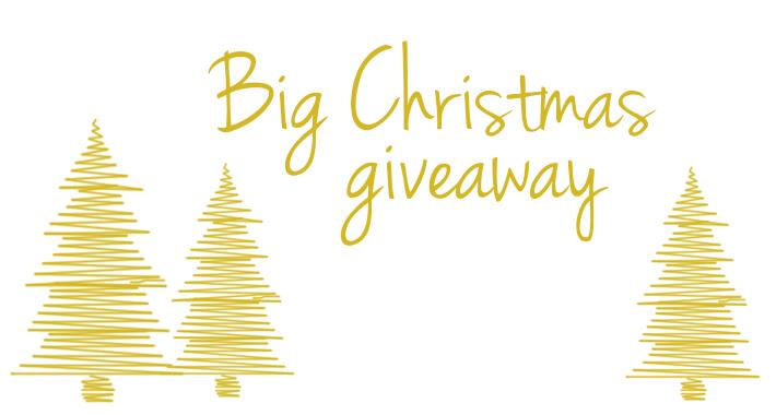 Big christmas giveaway dag 1
