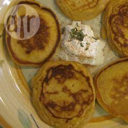 Zoete aardappelpannenkoeken recept