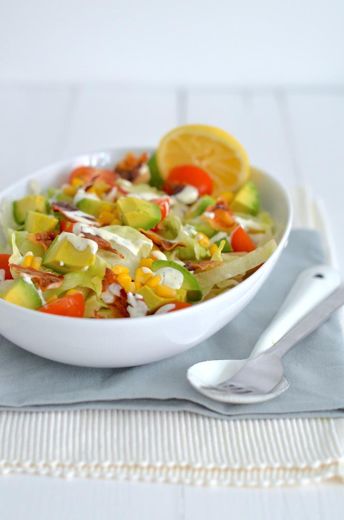 Fresh & easy: blt pastasalade