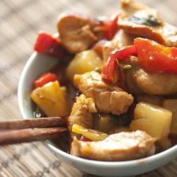 Kip met ananas recept