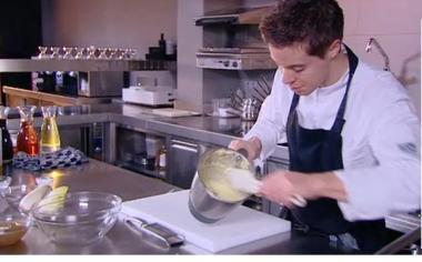 Recept 'noordzeetong met soufflé van truffel en puree van pompoen ...
