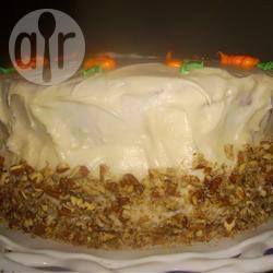 Wortel- en amandel cake recept