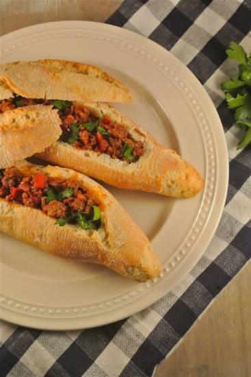 Gevulde gehaktbroodjes recept