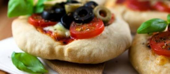Mini pizza's recept