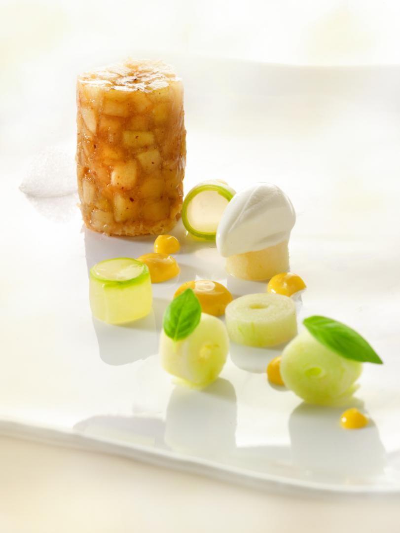 Recept 'appeltaartje met ijsthee'