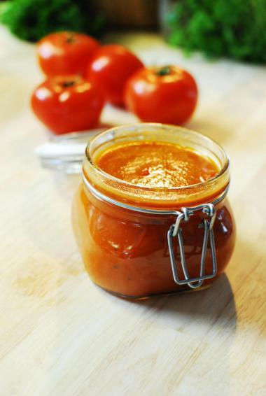 Recept 'ketchup'