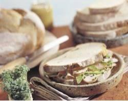 Provençaalse kip sandwich recept