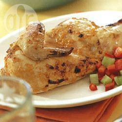 Pikante gegrilde kip recept