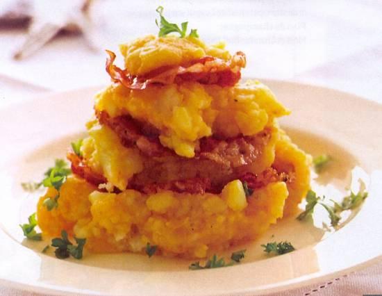 Hutspot pompoen & pancetta recept